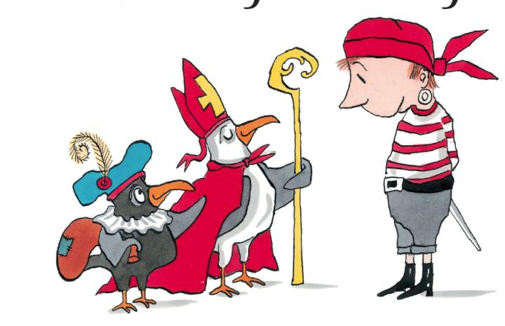 Aadje piraatje viert sinterklaas∏Sieb Posthuma